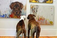 Dog Portraits / Dogs make the world a better place, I'm privileged to have known a few.   / by Kathleen Melville