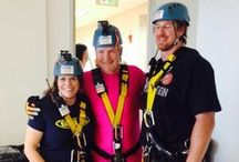 Murphy Huston Over The Edge / Murphy Huston goes Over The Edge for Cancer League of Colorado on July 11, 2014. #Denver / by KOSI 101.1