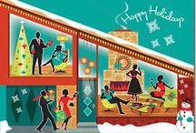 Christmas: Vintage/MCM/Retro/Modern / by vincentvanbuck