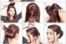 Celebrity Hairstyles / Check out the latest and hottest celebrity hairstyles here. / by Healthy Lady Living by Michelle