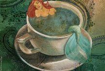 Mermaids 2 / by Carroll Wilson