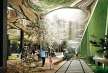 City Planning / より暮らしやすい環境へ。 / by Misato SATODUKA