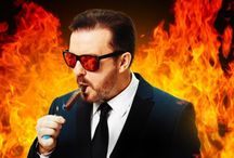 Ricky Gervais is a GENIUS! / Ricky (Stephen & Karl too) / by Tammy Stopher