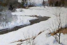 winter scenes / by sue smith