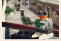 Lego Robots / Lego Robots made by Humans! / by Vintage Robot