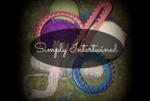 Simply Intertwined  / Videos, Blogs,Products and more related to Simply Intertwined by Virginia M. Galligan / by Virginia Galligan