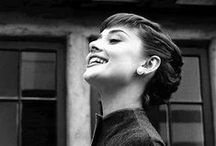 """Audrey Hepburn 3> / """"I don't want to be alone, I want to be left alone."""" / by Hilaria Fina"""
