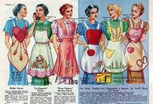 Apron Appetite / Vintage and repurposed aprons. Children's aprons and mom aprons. I especially love vintage fabrics and lace! / by Candice
