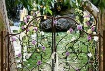 Outside/Gates/Doors/Pools/Flowers/Etc / Gates, doors, pools, beautiful grounds, flowers, water / by Anita Moyer