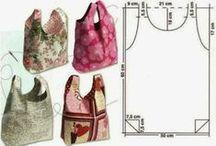 borse in tessuto / ci sono anche i cartamodelli !!! / by Anna Cavani