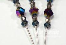 stick pins / by Maria Keller