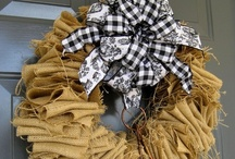 Crafts...Got Fabric? / projects made with fabric, burlap, or ribbon... / by Marty Ratlief