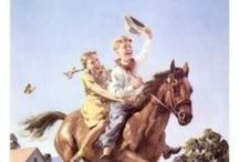 Cowboys & Cowgirls / Then now and forever!!! Saddle up!!! / by H. Being