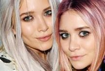 Two of a Kind: Mary Kate and Ashley / ~ The Olsen Twins thru the years ~ / by Lori DeLong
