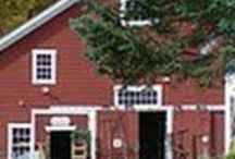 My Favorite Barn / Paula's Barntiques http://www.barntiquestore.com / by Hangin Out At Bobbie's