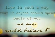 Quotes. / by Alyssa Eddy