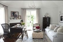 home office - library decor / by Jill Samter