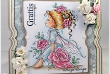 Cards - Wee stamps / by Amanda Harrod