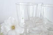 Vaisselle, verres, couverts et belles tables... / J'adore la vaisselle... j'adore encore plus les verres... j'adore faire de jolies tables un peu personnalisées pour mes amis ! / by Isabelle LN