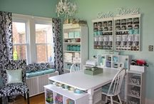 Craft Room Ideas / Inspiration for the craft room I'd love to have some day! / by Stampin' Essentials
