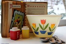 Vintage Dishes / by Gloria