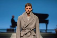AW 2014 Fashion Show / Flowing shapes, fabrics and colours in a collection created for a cultured, curious man who is ironic, adventurous and always dresses with impeccable style. / by Canali