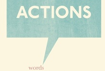 Words that stir (thought,laughter,tears) / by Merissa Ramantanin