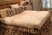 Home ideas: Master Bedroom  / by Cayla McCoy