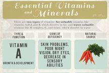 Vitamins & Minerals / by Adya Clarity