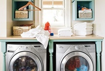 Laundry rooms / by Amy Suardi (Frugal Mama)