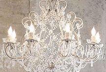 chandeliers / by veronica miller