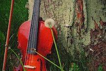 Violin's / I like them , I don't play them..... / by Sharon Holiday