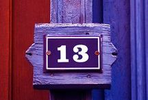 13 / 13 is my favorite number. I love Friday the 13th. / by Michelle Malone