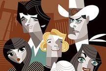 Caricatures - Films / by Tószegi Andrea
