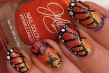 Nail Art - Flight of Whimsy / My nail art from http://flightofwhimsy.wordpress.com/ / by Eva Klinman