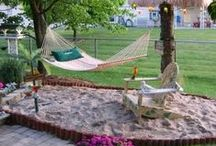 garden/garden art/patio/yard / in the desert? / by ruby bell