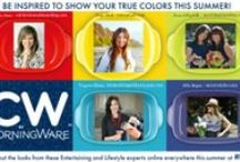 #CWColor - Show Your True Colors! / Inspirations and Creations with CW by CorningWare™ – New Color Bakeware / by Party Bluprints Blog