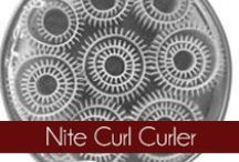 Nite Curl Curler - Olivia Garden / The Olivia Garden Nite Curl Beauty Tools are a self-gripping curler used while sleeping. Founded in 1968, #OliviaGarden has a long-standing, family history of designing and manufacturing high quality #BeautyTools engineered to exceed hairdresser and consumer needs. Find your perfect curler at OliviaGarden.com #NiteCurl  / by Olivia Garden International