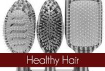 Healthy Hair - Olivia Garden / The Olivia Garden Fingerbrush hair brushes are eco-friendly and made from bamboo. Founded in 1968, #OliviaGarden has a long-standing, family history of designing and manufacturing high quality beauty tools engineered to exceed hairdresser and consumer needs. Find the right brush for your hair at OliviaGarden.com #BeautyTools #HealthyHair / by Olivia Garden International