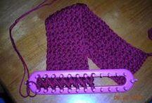 loom knitting / by Marsha Ziolkowski
