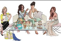 Design Illustrations by Inslee / Beautiful illustrations by Inslee / by Judy Clark