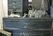 Furniture redo, paint finishes / by Pamela Thompson