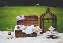 Styled photoschoot / Photographer: Aleksandra Olejnik Photography  Baby clothing: Handmade by Arantza Rivas Cupcakes: Tartalicious / by Handmade by Arantza Rivas