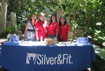 Meet our Team!  / Meet our awesome SilverandFit program managers who work directly with our members at events all around the US!  / by Silver&Fit