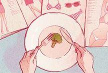 Illustration / by Myraa Sajtos