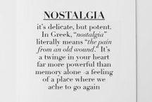 Nostalgia / by Little-Red-Orange Creative Design