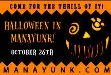 Halloween in Manayunk / Come out to Main Street and visit Pretzel Park on October 27 from 8 a.m. to 8 p.m. for some fun Halloween activities! / by Manayunk.com