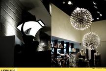 DEWE (Granada) / Proyecto completo de iluminación LED en tienda de moda.  ahorro energético del 80 %  / by LEDILUX Iluminación