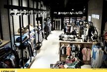 By DROP (Granada) / Diseño y proyecto de iluminación LED en tienda de moda  / by LEDILUX Iluminación