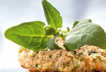 Comida saudável (salgados) - Healthy food (snacks) / by Angela Espanhola